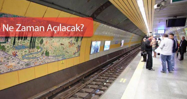 Kartal Kaynarca Metro İnşaatı Son Durum!