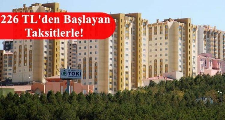 Toki Ankara Mamak Gülseren Mahallesi 1 ve 2. Etap Konutları Satışta