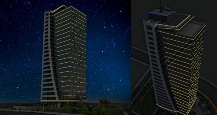 Arp Kule Ankara'da Metrekaresi 5 Bin 300 TL'den