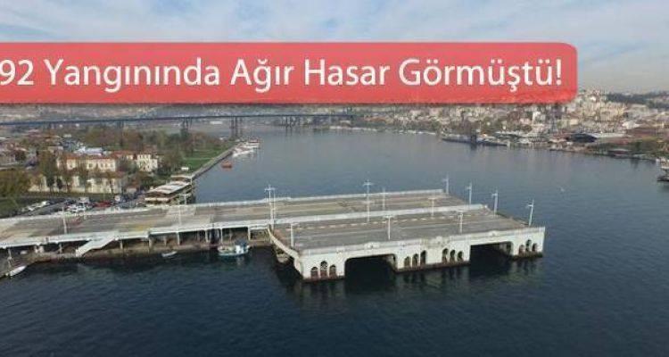 80 Yıllık Eski Galata Köprüsü Kaderine Terk Edildi