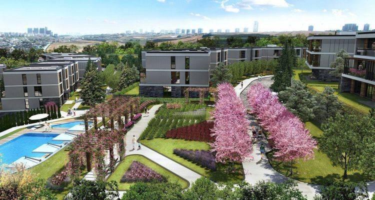 Eston Şehir Projesinin Bin 400 Konutluk Yeni Etabı Yolda
