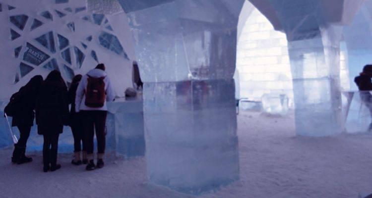 İsveç Buz Oteli