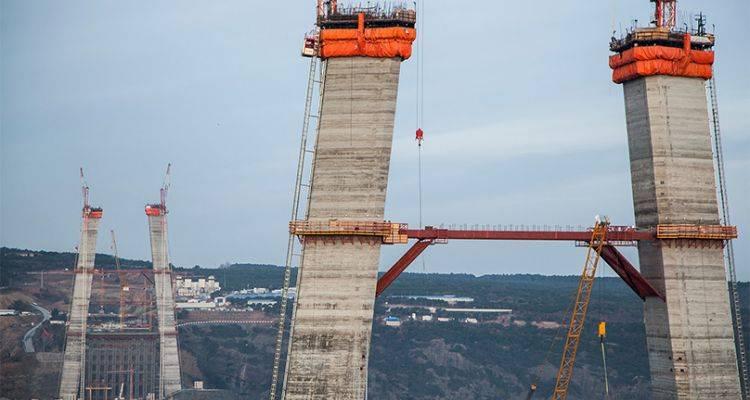 Üçüncü Köprü İnşaatında Sona Yaklaşıldı