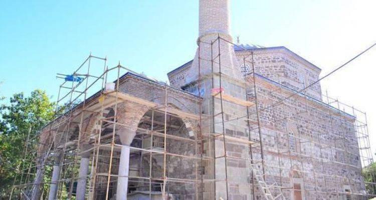 259 Yıllık Tarihi Cami Restore Ediliyor