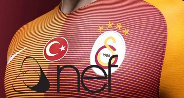 Nef Galatasaray'a Sponsor Oldu