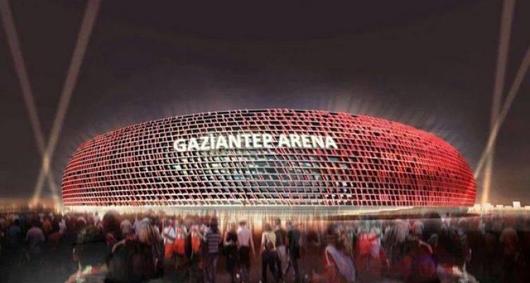 Gaziantep Arena'da Geri Sayım Başladı