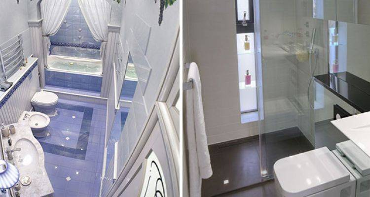 Küçük Tuvaletler İçin Dekorasyon Fikirleri
