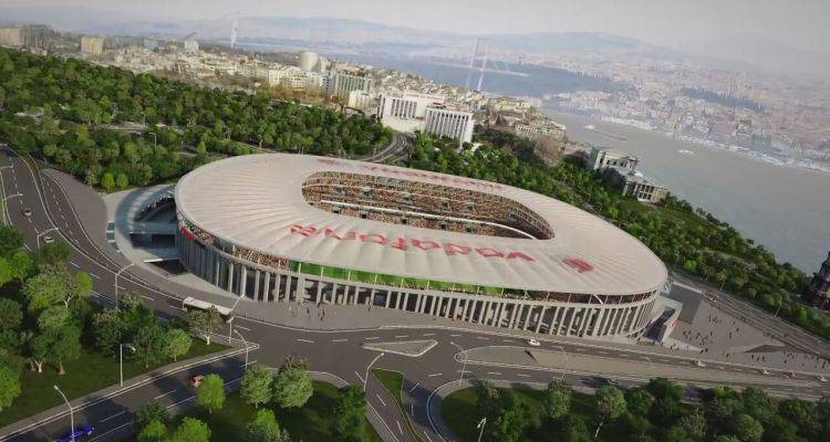 Beşiktaş'ın Yeni Stadı Swissotel'de Tanıtıldı