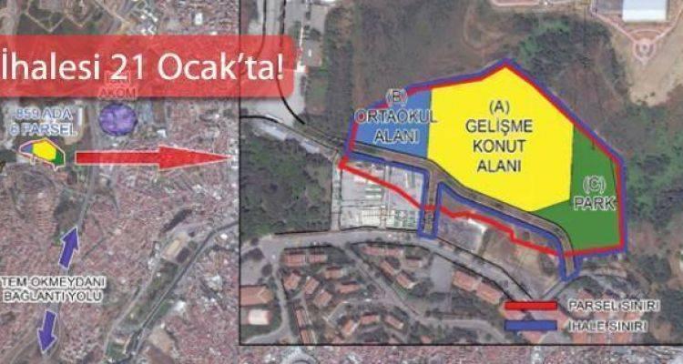 Emlak Konut Eyüp Alibeyköy Arsasını İhaleye Çıkarıyor