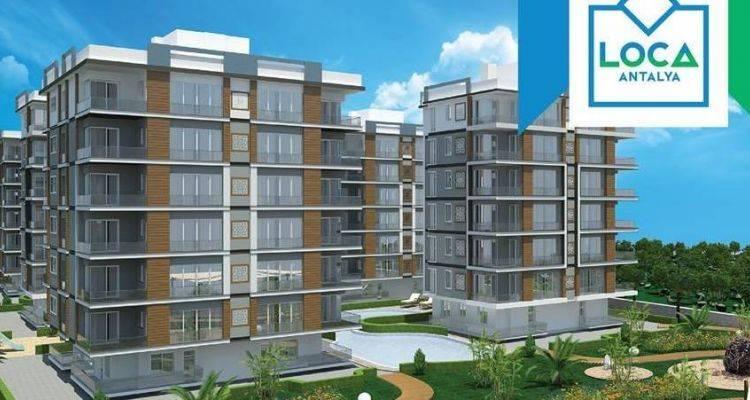 Loca Antalya Projesinde 238 Bin TL'ye 1+1