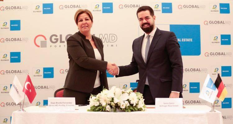 Global ile Bilfinger Türkiye'de Gayrimenkul Yatırım Fonu Kuruyor