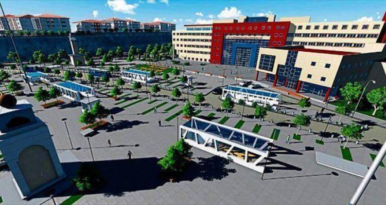 Ankara Keçiören'e Dev Kent Meydanı