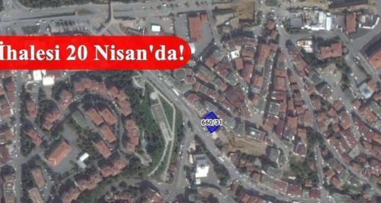 İstanbul Büyükşehir Belediyesi'nden Eyüp'te Satılık Arsa