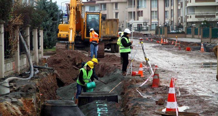 Kocaeli Tramvay Hattı Güzergahında Alt Yapı Yenileniyor