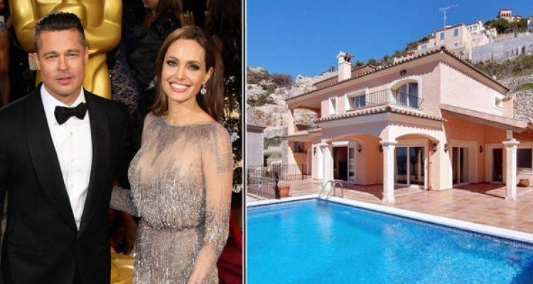 Angelina Jolie ve Brad Pitt Çifti Mayorka'dan Villa Aldı