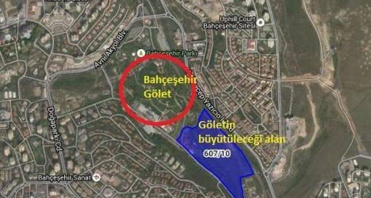Bahçeşehir  Park Gölet Satılık!