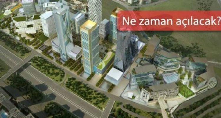 Emlak Konut İstanbul Finans Merkezi AVM İçin Düğmeye Bastı