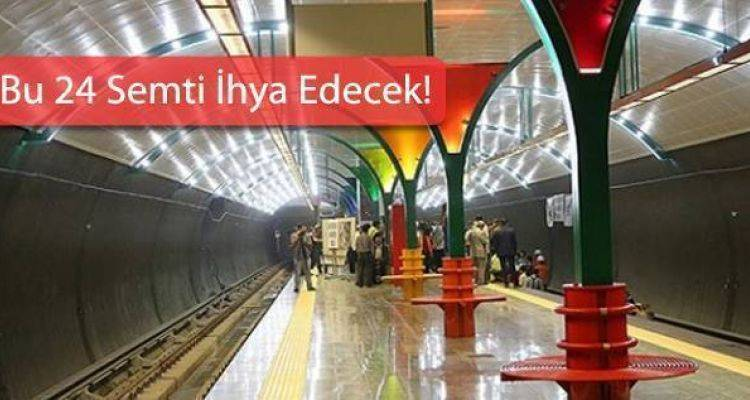 2017 Metro Güzergahı