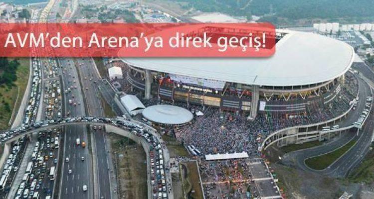 TT Arena'ya Füniküler Hattı Geliyor