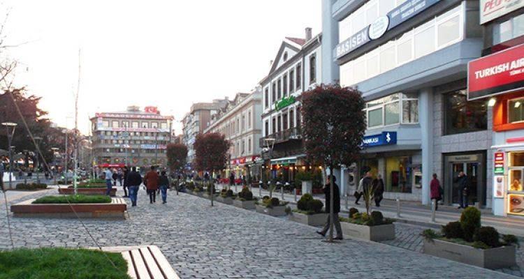 Trabzon Meydan Parkı Restore Ediliyor