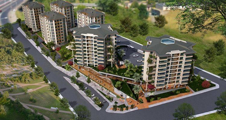 Papatya Park Residence'ta 205 Bin TL'ye 1+1