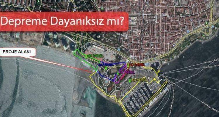 Ataköy Turizm Kompleksi'ne Kıyı İtirazı