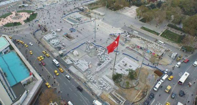 Taksim Meydan Düzenlemesinde Sona Gelindi