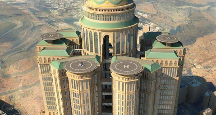Dünyanın En Büyük Oteli Mekke'de Yükseliyor