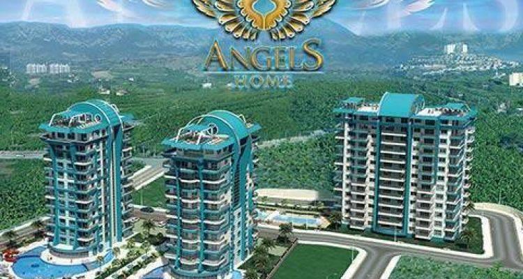 Angels Home Alanya'da Yükseliyor