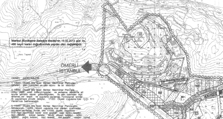 Şile Merkez Nazım İmar Planı Değişikliği Askıya Çıktı