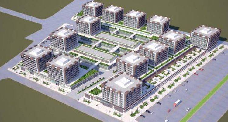 Kiza İş Merkezi Adana'da Yükseliyor