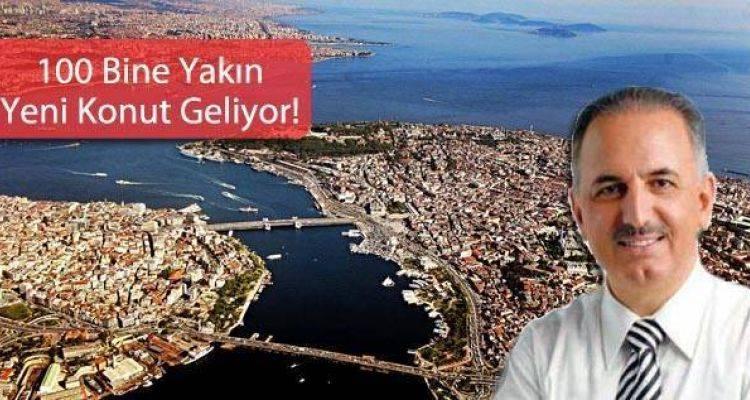 KİPTAŞ'tan İstanbul'a 7 Yeni Proje