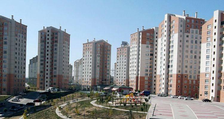Kayaşehir'de Yeni TOKİ Konutları