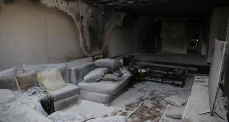 İzzet Yıldızhan'ın Bahçeşehir'deki Evi Yandı
