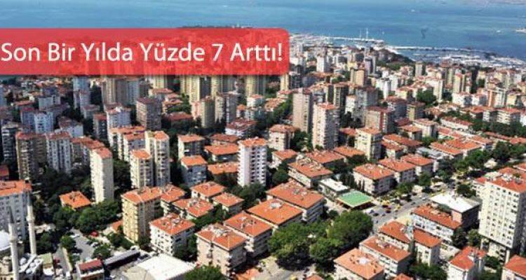 Türkiye'de Konut Fiyatları Ortalama 2 Bin 441 Bin Lirayı Buldu