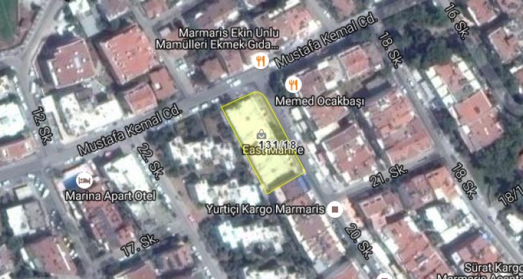 Marmaris Belediyesi'nden Satılık Arsa