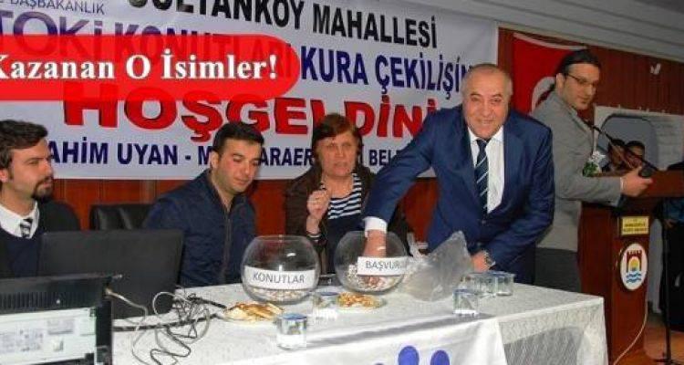Tekirdağ Marmara Ereğlisi Sultanköy Toki Kura Sonuçları Tam Listesi