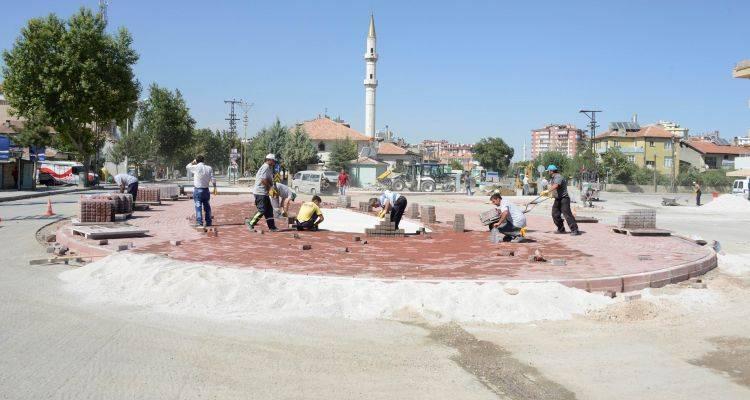 Konya Meram'da Kavşak Düzenlemesi!
