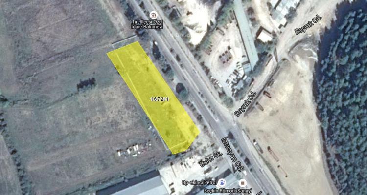 Tire Belediyesi'nden Satılık Arsa