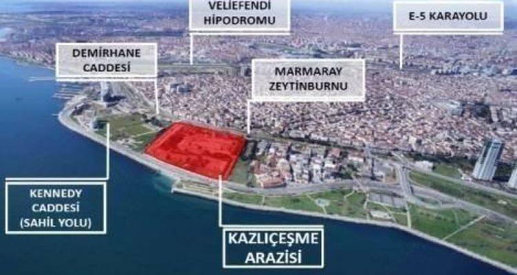 Büyükyalı İstanbul Zeytinburnu Projesi Yarın Görücüye Çıkıyor