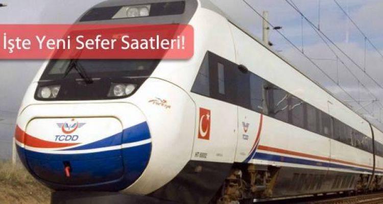 Hızlı Tren Sefer Saatlerinde Kış Tarifesi Başladı