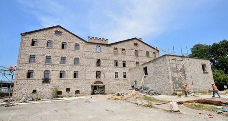Halkapınar'daki Tarihi Un Fabrikası Kent Koleji Oluyor