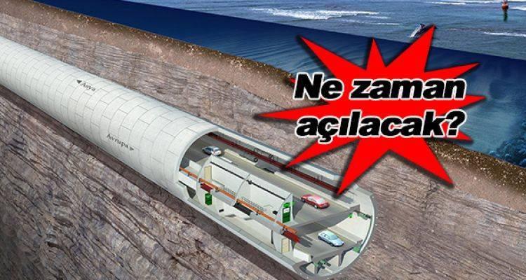 Avrasya Tüneli inşaatında son durum 2015!