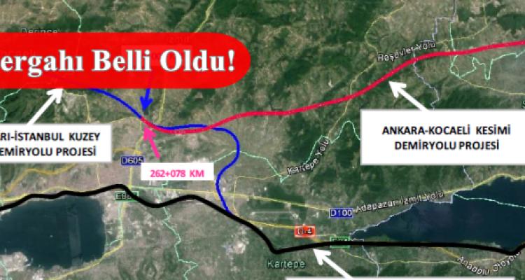 Adapazarı İstanbul Kuzey Geçişi Demiryolu Projesi Başlıyor