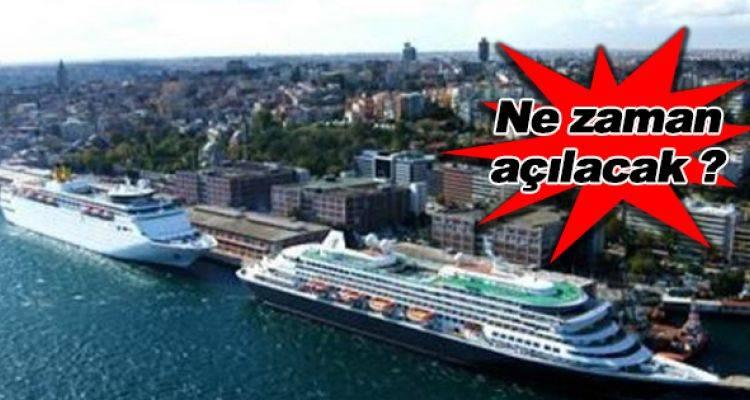 Salıpazarı Kruvaziyer Limanı Çed'ten geçti!