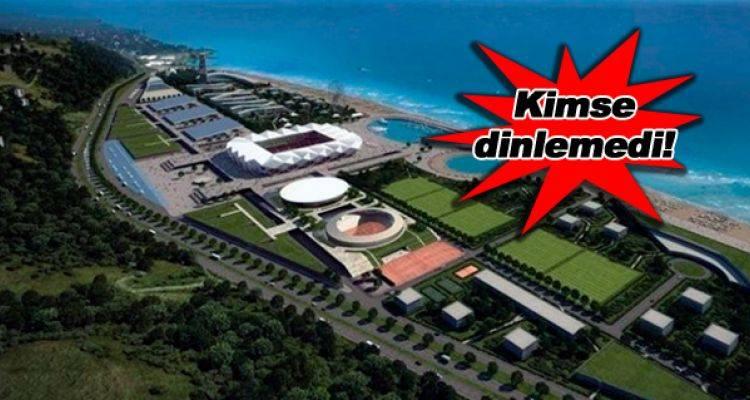 Trabzonspor'un Yeni Stadyumu İçin Uyarı!