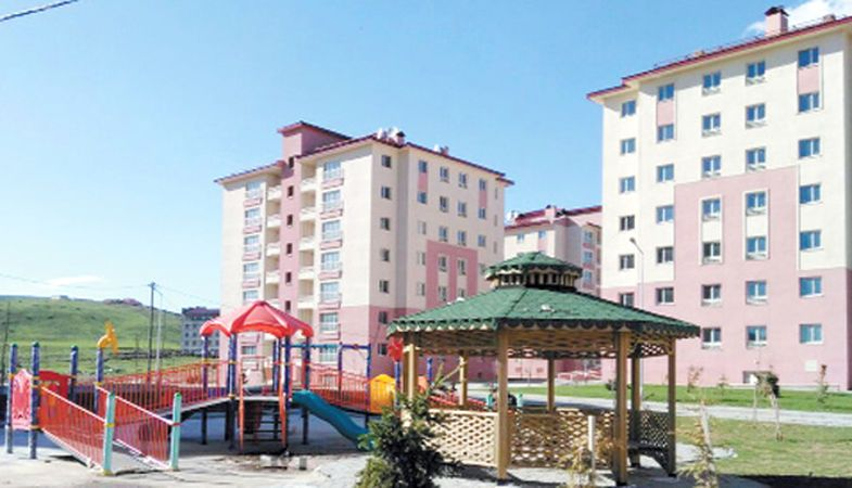 Toki Bitlis Merkez'e 349 Yapacak
