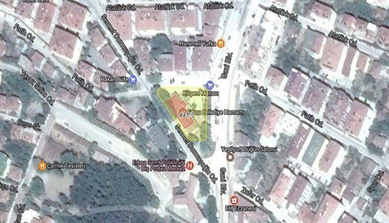 Erbaa Belediyesinden Satılık Hamam!