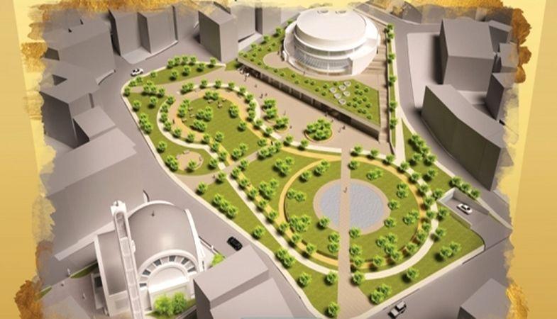 Bursa Osmangazi'de Meydan ve Kültür Merkezi Çalışması!