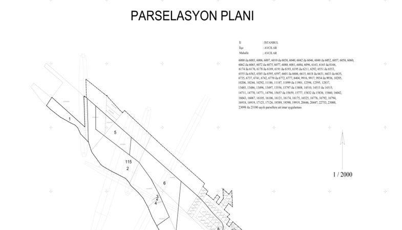 Avcılar Parselasyon Planı Askıda!